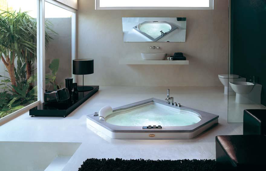 vasche da bagno moderne. standard da incasso o pannellata vasche ... - Arredo Bagno Con Vasca